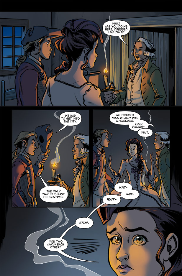 Culper Comic Issue 1 page 2