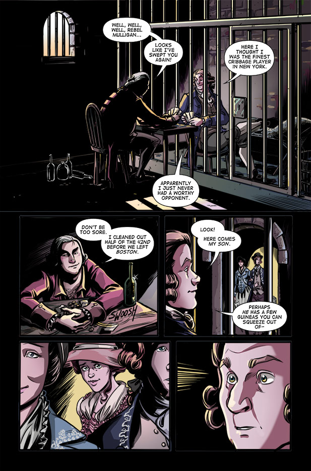 Culper Comic Page 14 Issue 1