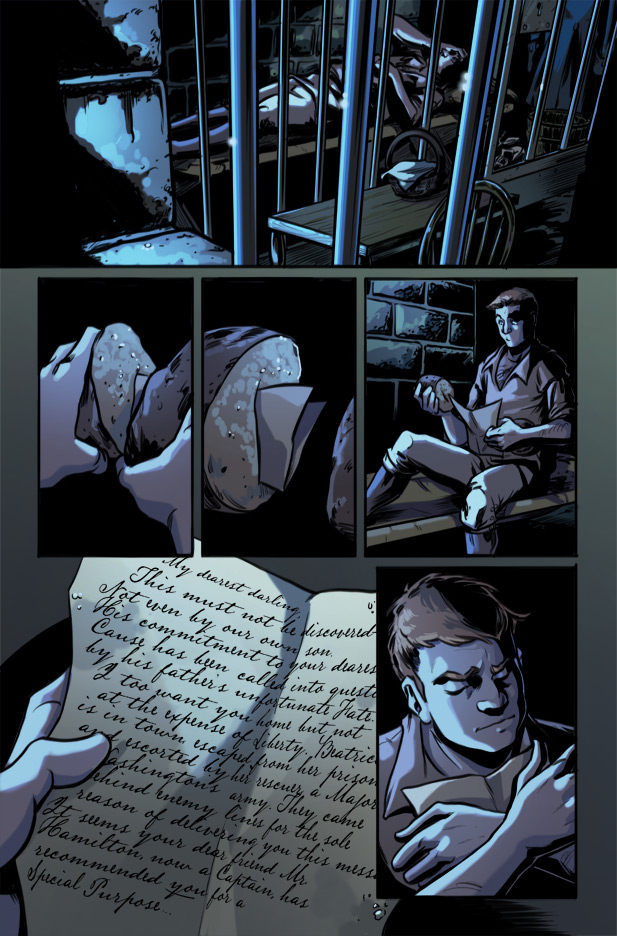 Culper Comic Page 25 Issue 1