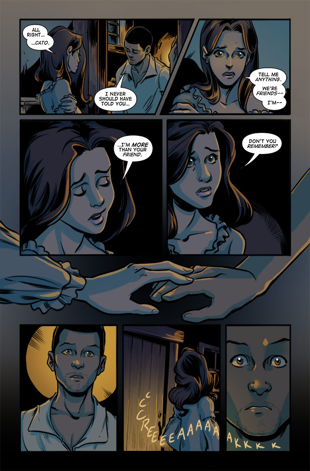 Culper Comic Page 28 Issue 1