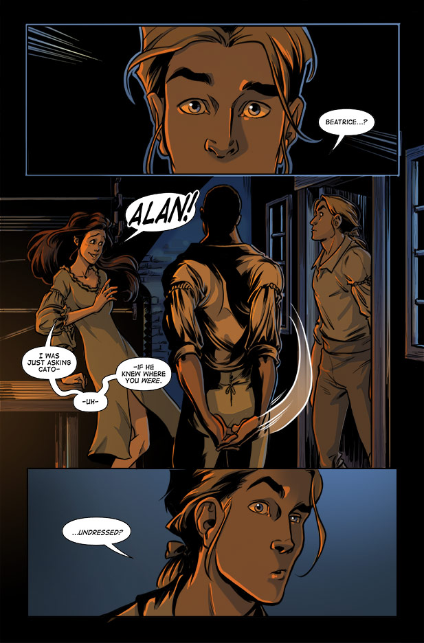 Culper Comic Page 1 Issue 2
