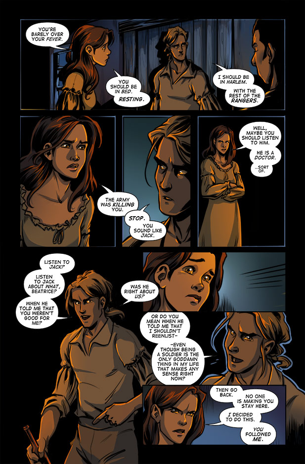 Culper Comic Page 3 Issue 2