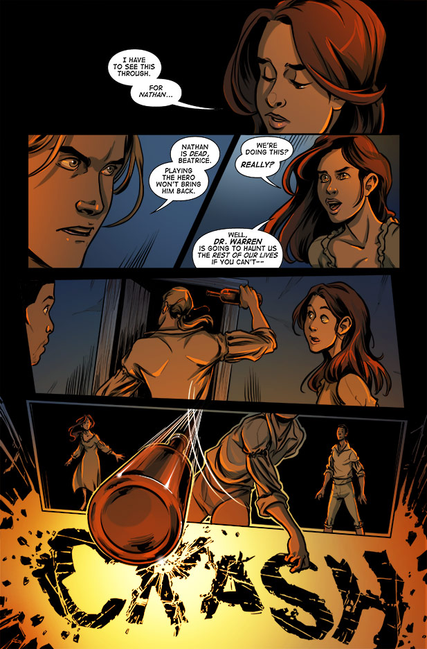 Culper Comic page 5 Issue 2