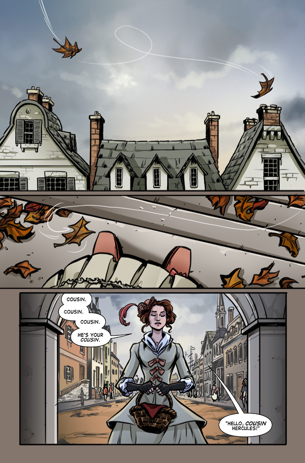 Culper Comic Page 7 Issue 2