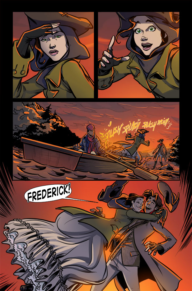 Culper Comic Page 21 Issue 2
