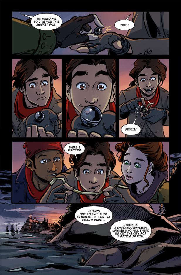 Culper Comic Page 23 Issue 2