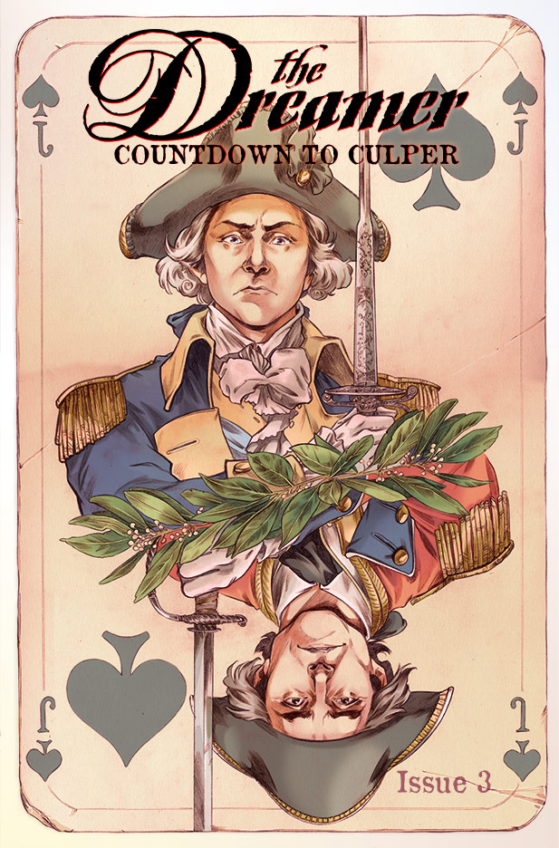 Culper Comic Issue 3 Cover