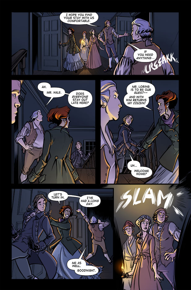 Culper Comic Page 2 Issue 3