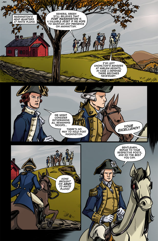 Culper Comic Page 8 Issue 3