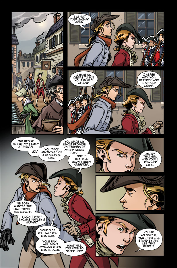 Culper Comic Page 9 Issue 3