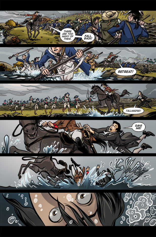 Culper Comic Page 11 Issue 3