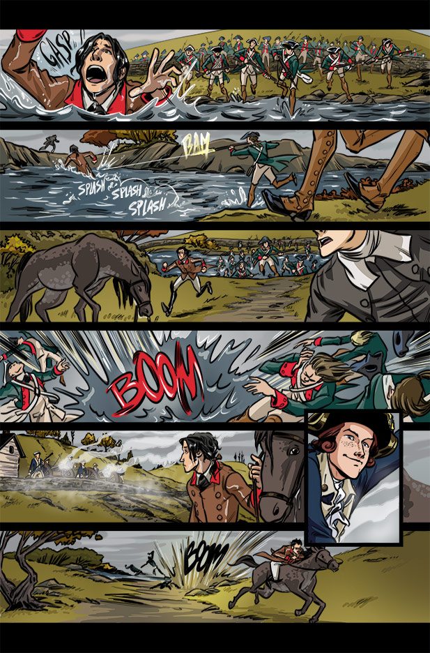 Culper Comic Page 12 Issue 13
