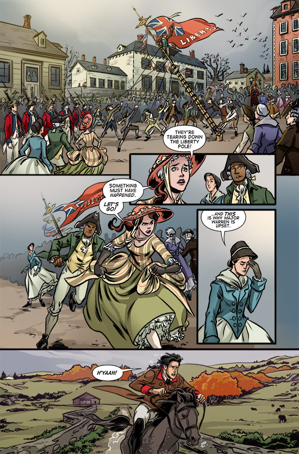 Culper Comic Page 14 Issue 3