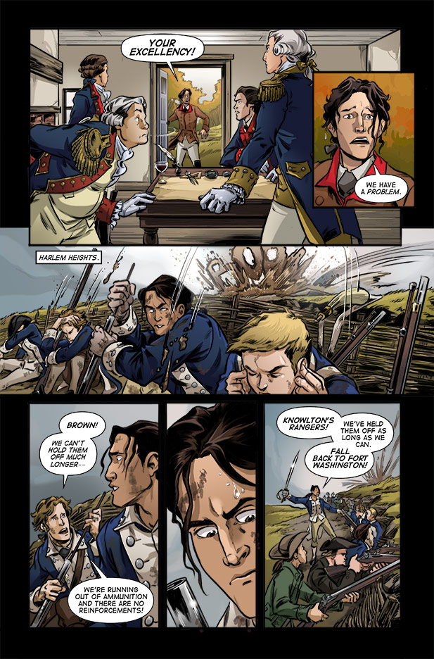 Culper Comic Page 15 Issue 3