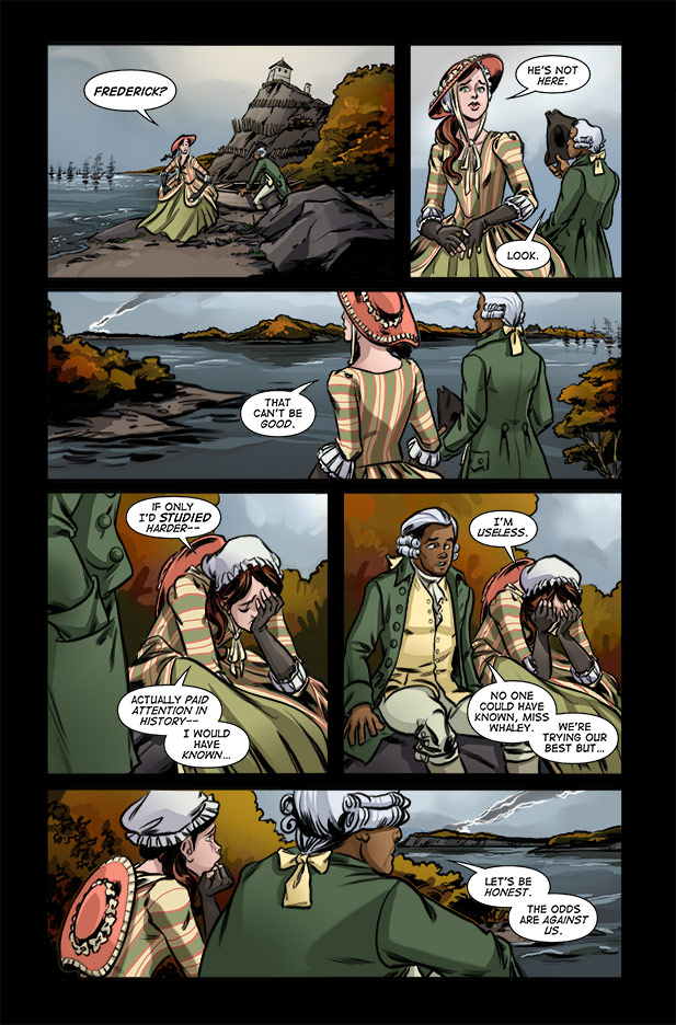 Culper Comic Page 16 Issue 3