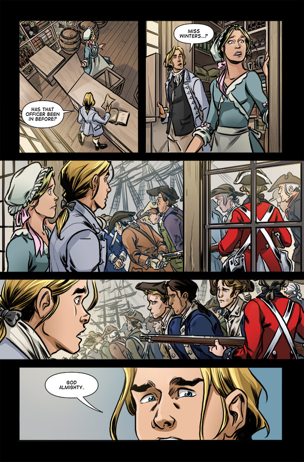 Culper Comic Page 25 Issue 3