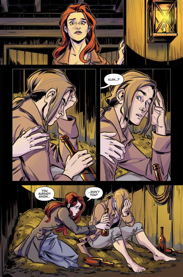 Culper Comic page 28 Issue 3