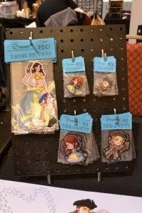 Dreamer magnetic dress up dolls, charms and character magnets.