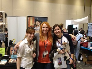 Me, Jen and Caera at Anime Boston