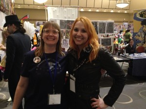 Me and Tammy Eustis at Anime Boston.