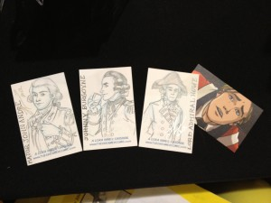 British General Sketch Cards