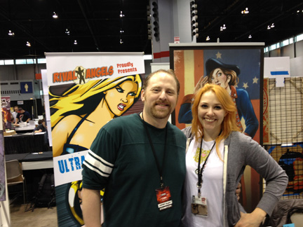 Lora Innes and Alan Evans C2E2 2012