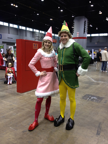 Elf Cosplayers at C2E2