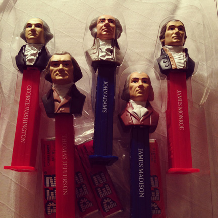 President Pez dispensers