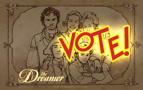 Vote for The Dreamer history comic!