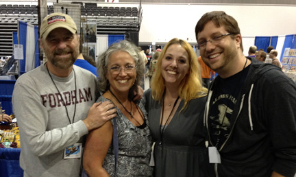 Beau and Beth Smith with Lora and Mike Innes at Tricon 2010