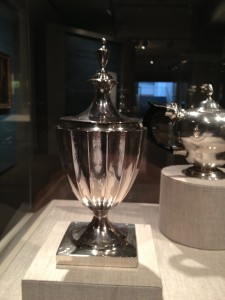 Paul Revere-made sugar bowl.