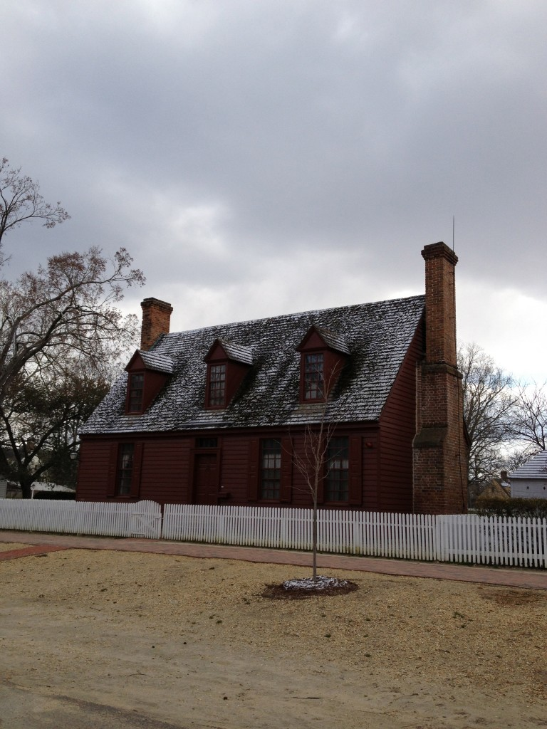 Colonial Williamsburg in Winter
