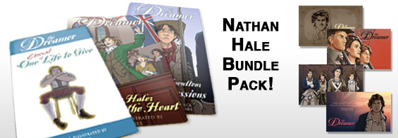 Nathan Hale Bundle Pack Ad