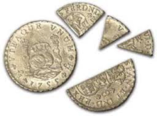 Bit coins predate Internet BitCoins by centuries: